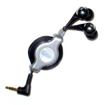ZipKord Retractable Earbuds