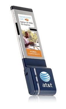 AT&T GT Max 3.6 Express HSDPA ExpressCard