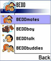 BEDD Bluetooth Service