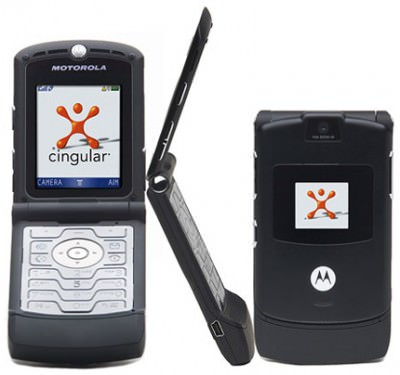 Black RAZR Cingular