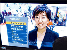 Comcast DVR On Demand Washington Rollout