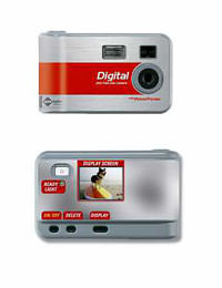 CVS Camera, Front and Back