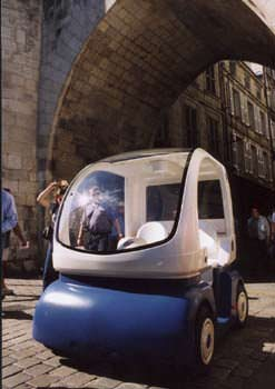 The CyberCar Cab model