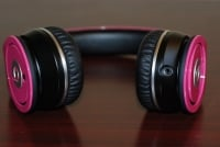 Beats by Dr. Dre Pink Charles Hamilton Customs bottom