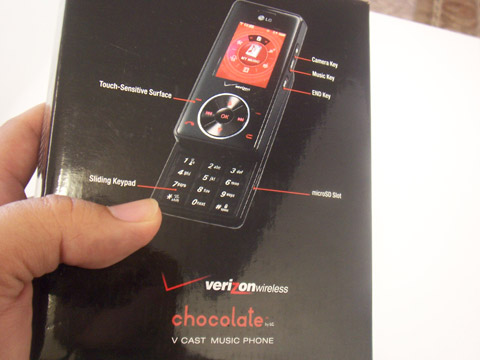 LG Chocolate Review