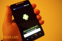 Droid RAZR hands-on