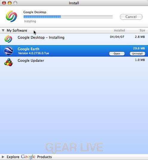 Google Desktop for Mac