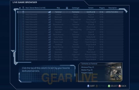 Halo 2 Dedicated Servers