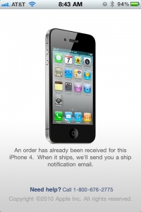 iPhone 4 Case Program already ordered