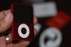 The (PRODUCT) RED iPod nano 3rd Gen. unboxed