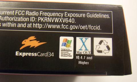 Verizon V640 ExpressCard