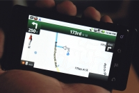 Motorola DROID: Google Maps Navigation