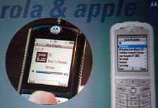 Motorola iTunes Phone