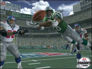 Madden 2005 Diving Catch