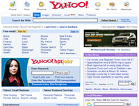 Yahoo! Homepage redesigned new look
