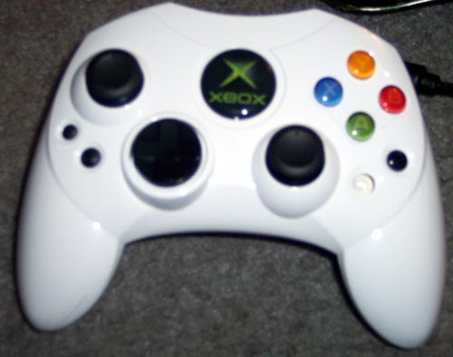 White ColorWare XBOX Controller Paint