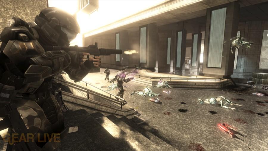 Halo 3: ODST Alphasite Firefight Map 1 - Halo 3: ODST