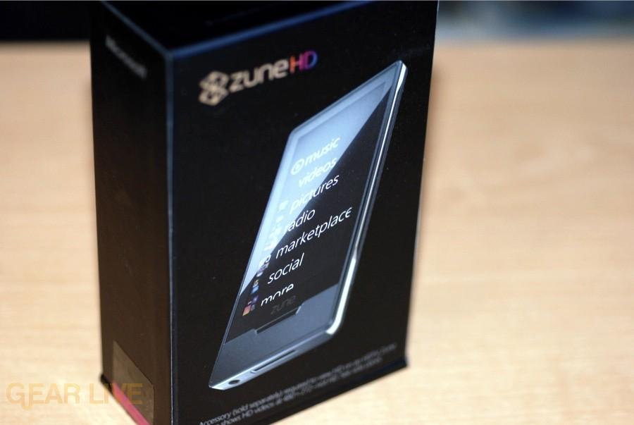 Zune HD box front