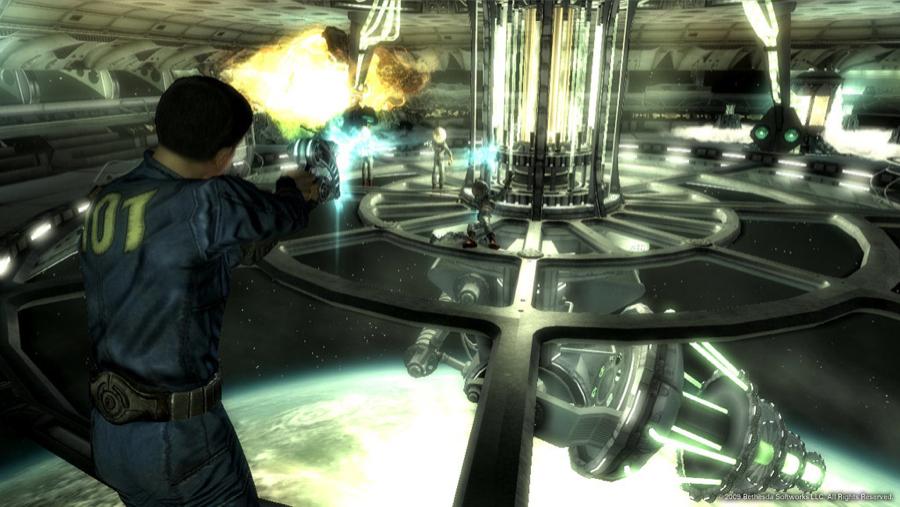 Fallout 3 Mothership Zeta Alien Combat