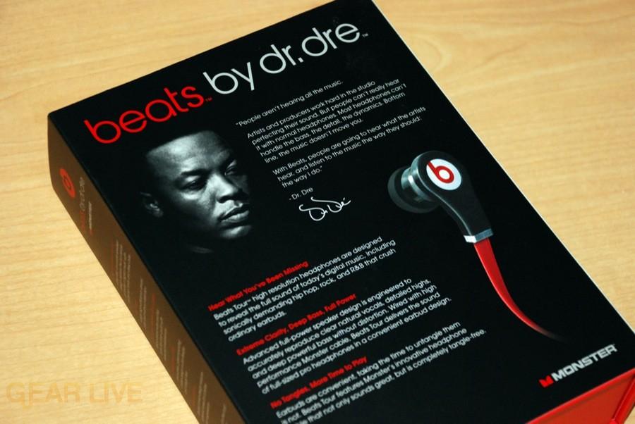... Beats by Dr. Dre Tour box back ... 4081423d3999