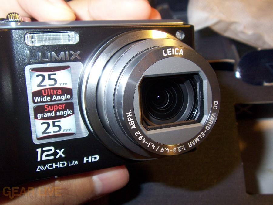 Panasonic Lumix ZS3 lens