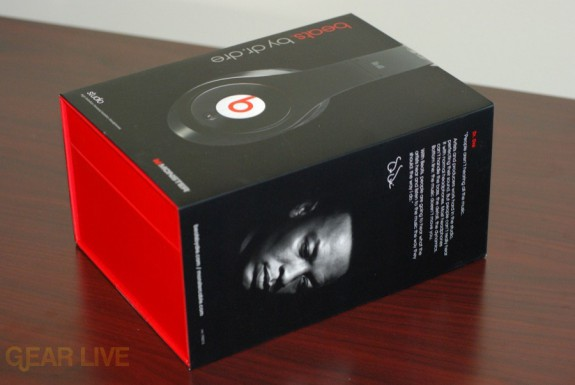 Beats by Dr. Dre box diagonal