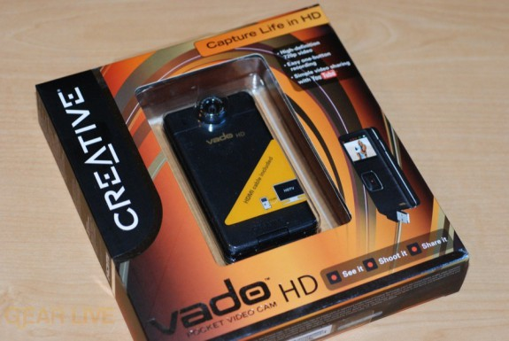 Creative Vado HD in box