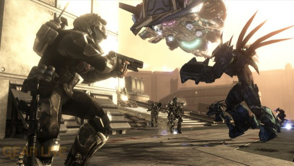 Halo 3: ODST Security Zone Firefight Map 1