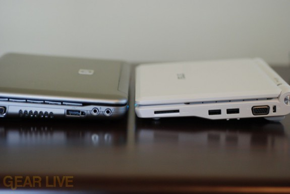 Mini-Note and Eee PC profiles