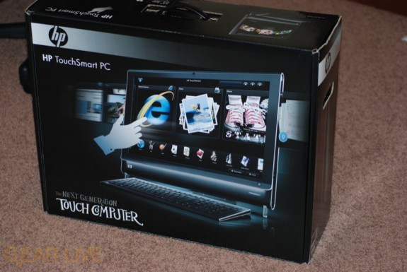 HP TouchSmart PC box