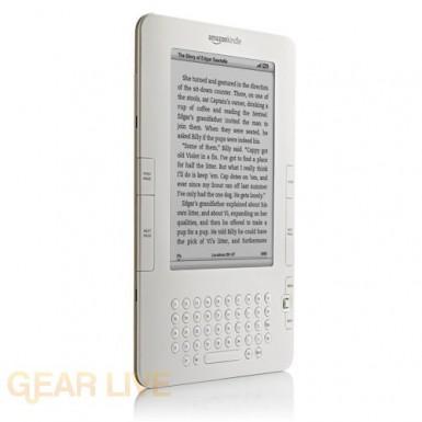 Amazon Kindle 2 left side