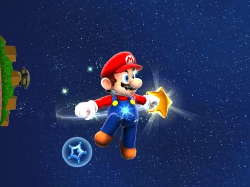 Mario Galaxy HD: Mario in Space