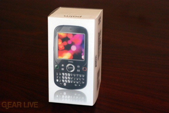 Palm Treo Pro box wrapper