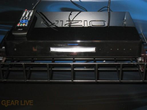 VIZIO VBR100 Blu-ray player front