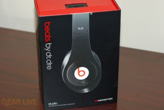 Beats by Dr. Dre box front