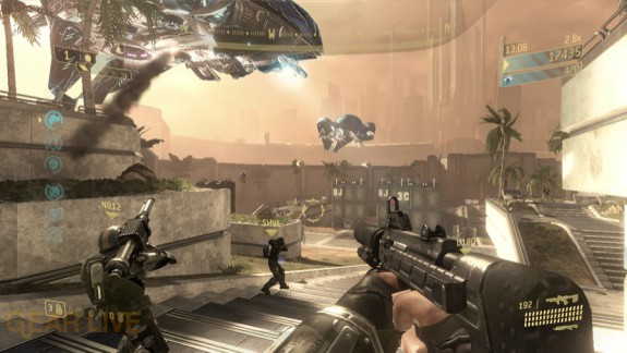 Halo 3: ODST Security Zone Firefight Map 2