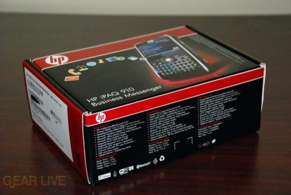 HP iPaq 914 box side