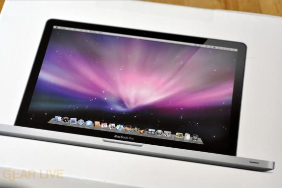 MacBook Pro 2009 box back