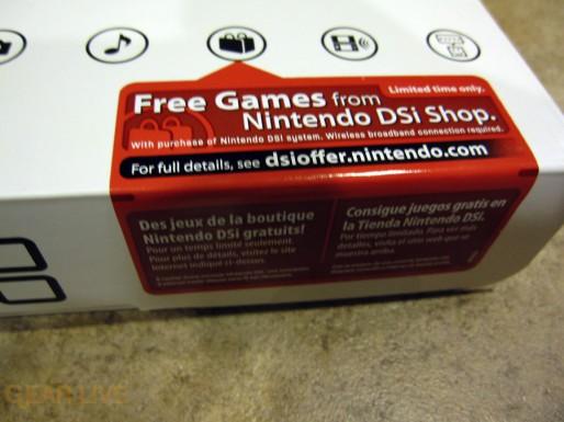 Nintendo DSi Shop tag