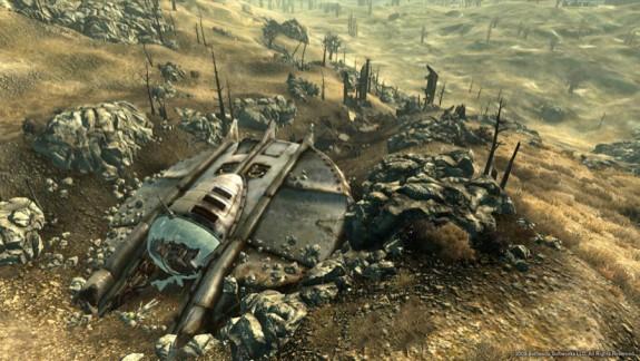 Fallout 3 Mothership Zeta Crash Site
