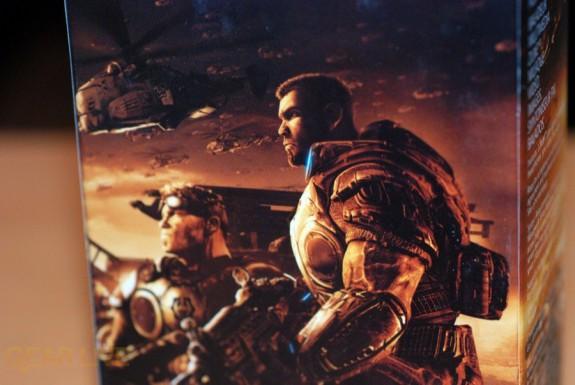 Gears of War 2 Zune box back