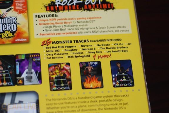 Guitar Hero: On Tour bands