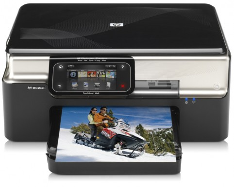 HP Photosmart Premium with Touchsmart Web front