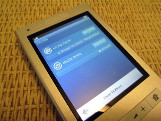 Sonos Controller 200 Front Screen