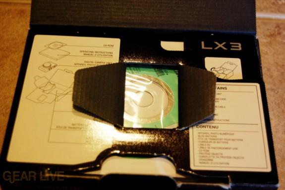 Panasonic Lumix LX3 box opened