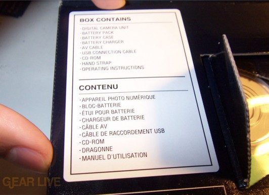 Panasonic Lumix ZS3 Box contents