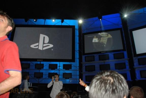 E308 Sony Briefing grabbing seats