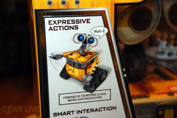 Ultimate Control Wall-E Expressive Actions