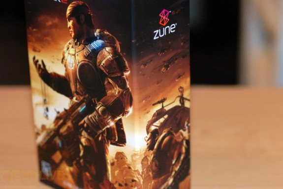 Gears of War 2 Zune box art