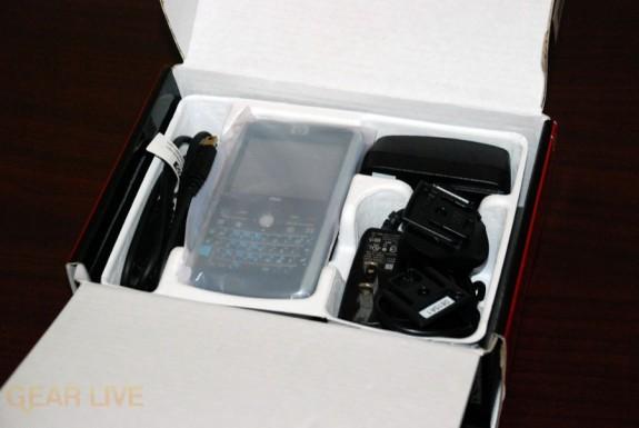 HP iPaq 914 box innards